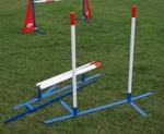 2x2 slalomset met beweegbare zijstrips